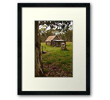 Davies High Plains Hut Hugh Country Framed Print