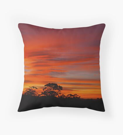 Sunrise at Lavers Hill Throw Pillow