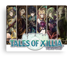 Tales Of Xillia Group Canvas Print