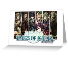 Xillia Group (ToX) Greeting Card