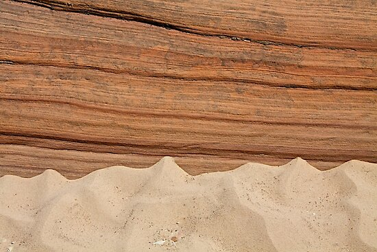 Sandstone and Sand by John Butler