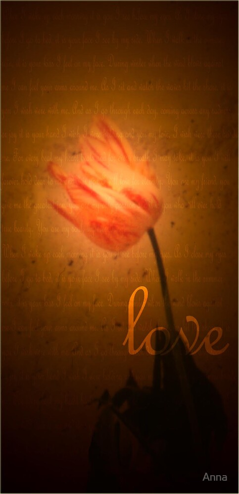 'love' 2003 by Anna