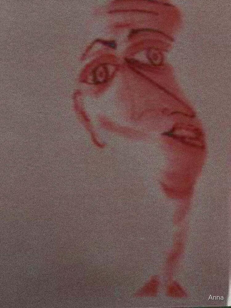 'Head' 1999 by Anna