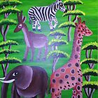 Wanyama Wapole (Gentle Animals) by Omary S