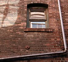 Building in an alley by KaelaRose