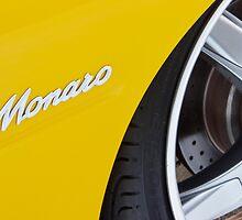 Yellow Holden Monaro by John Jovic