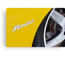 Yellow Holden Monaro Canvas Print