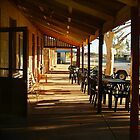 Pub, Outback Tibooburra,N.S.W.  by Joe Mortelliti