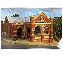 Omeo Post Office Poster