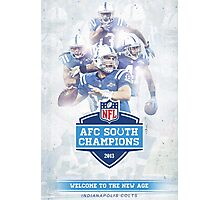 2013 AFC South Champions - Indianapolis Colts Photographic Print