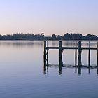 Tranquil Dawn - Metung by Ivan Kemp