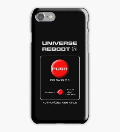 Universe Reboot iPhone Case/Skin