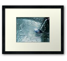 Doing the Dishes Framed Print