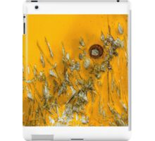 Abstract in Yellow iPad Case/Skin