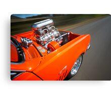 Orange Holden HG Monaro GTS rig shot Canvas Print