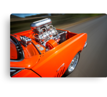 Orange Holden HG Monaro GTS rig shot Canvas Print