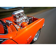 Orange Holden HG Monaro GTS rig shot Photographic Print