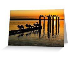 Port Phillip Bay Greeting Card