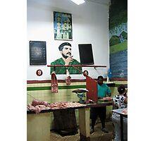 The Butcher Photographic Print