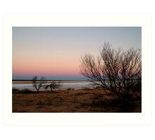 Salt Pan, Simpson Desert, S.A. Art Print