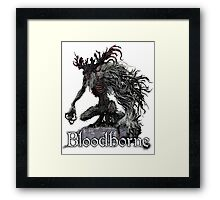 Cleric Beast from Bloodborne Framed Print