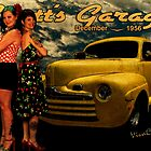 Gantt's Garage Pinup Tribute from VivaChas! by ChasSinklier