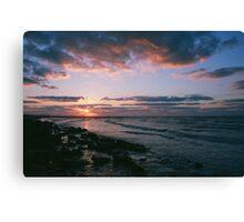 Galveston, TX sunrise Canvas Print
