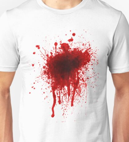 Blood Stain Unisex T-Shirt