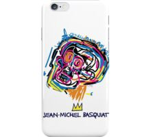 Jean Michel Basquiat Head iPhone Case/Skin