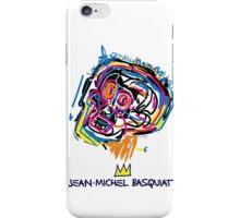 Jean Michel Basquiat Head iPhone Case/Skin