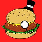 Fancy Burger by PengewApparel