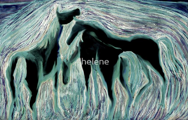Horses 3 by helene
