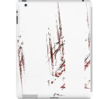 Traces and spaces iPad Case/Skin
