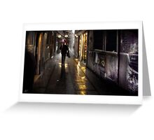 Venice Rain Greeting Card