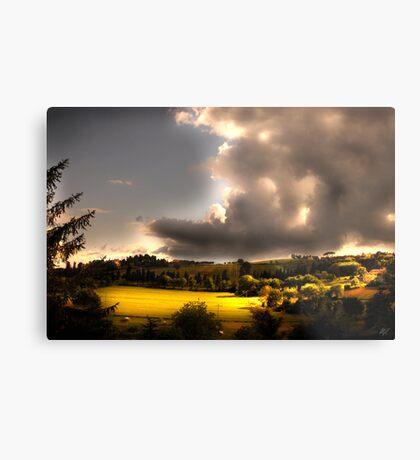 Umbria Hills Metal Print