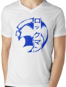 Rockman Mens V-Neck T-Shirt
