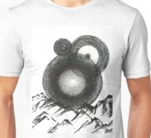 Abstract Mountains Unisex T-Shirt