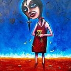 &quot;Spring&quot; (Red Dust Girl Series) Oil on Canvas. by Leith