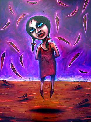 """Autumn"" (Red Dust Girl Series) by Leith"