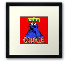 Smell Like Cookie! Framed Print