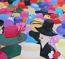 Ladies Day by Diana Cole