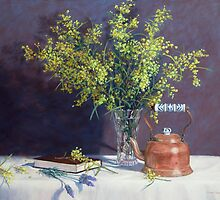 Flinders Range Wattle by Susan Borgas