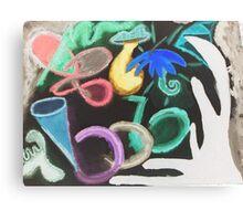 Revenge of the Flamboyant Inverted Umbrella Canvas Print