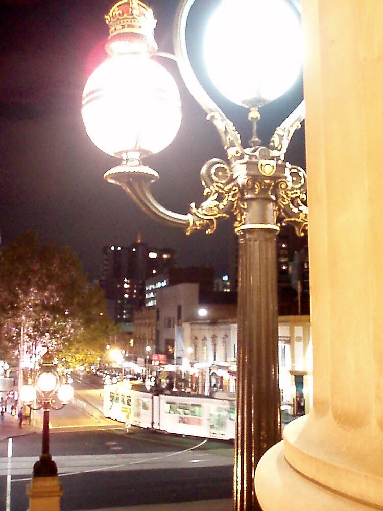 A Different View of Bourke St by Paul Lamble
