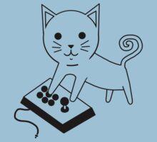 Arcade Kitten Baby Tee