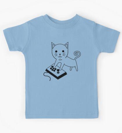 Arcade Kitten Kids Tee