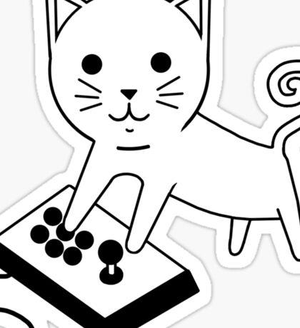 Arcade Kitten Sticker