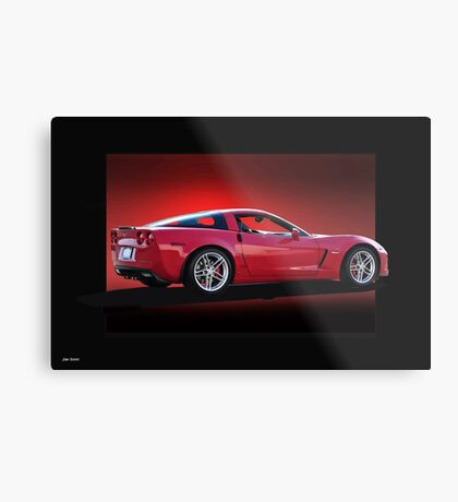 2014 Corvette Z06 Stingray Metal Print