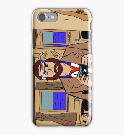 Richie Tenenbaum of The Royal Tenenbaums iPhone Case/Skin