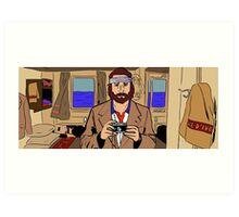 Richie Tenenbaum of The Royal Tenenbaums Art Print